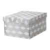 Коробка с крышкой Смека IKEA