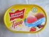 """Мороженое пломбир """"Трио"""" клубника-шоколад-ваниль Инмарко """"Золотой стандарт"""""""