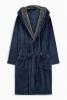 Мужской халат с капюшоном Next модель 400-033