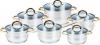 Набор кухонной посуды из 12 предметов Cookware set Mr-2006 Maestro