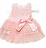 Платье для девочки Lace Bowknot Flower Clothes Vestido LL8