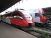 Поезд из Вены в Братиславу (Словакия)