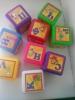 """Разноцветные детские кубики Бамсик """"Азбука"""""""
