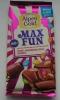 Шоколад Alpen Gold Max Fun арахис, разноцветные драже, карамель