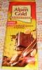 """Шоколад молочный Alpen Gold """"Соленый арахис и крекер"""""""