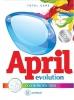 Порошок для стирки April Evolution Color protection automat