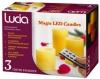 """Светодиодный светильник """"Свеча"""" Lucia 803-R 3 свечи в наборе"""