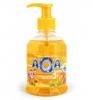 """Жидкое мыло для детей 3+ AQA baby """"Янтарная лагуна"""" с экстрактами календулы и ромашки"""