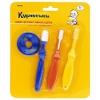Набор детских зубных щеток Курносики