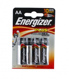 Алкалиновые батарейки Energizer Plus Power Seal