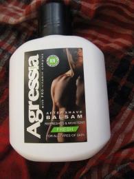 Бальзам после бритья Agressia men Fresh для всех типов кожи с ментолом