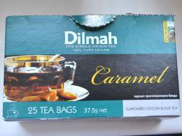 Чай черный байховый цейлонский с ароматом карамели Dilmah