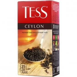 Чай Теss Ceylon черный высокогорный в пакетиках