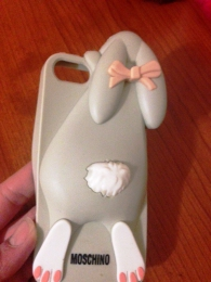 Чехол для мобильного телефона Wogeshisb Cartoon 3D Moschino Bunny case Rabito Rabbit For iPhone 5