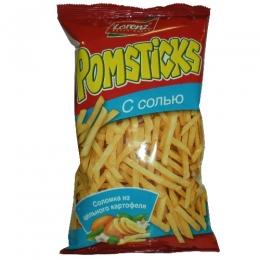Чипсы картофельные Lorenz Pomsticks с солью
