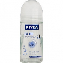 Дезодорант-антиперспирант Nivea Pure Invisible роликовый