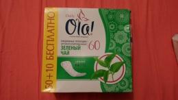 """Ежедневные прокладки Ola! """"Зеленый чай"""""""