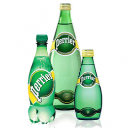 Газированная минеральная вода Perrier Lemon