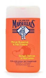"""Гель для душа экстрамягкий Le Petit Marseillais """"Белый персик и нектарин"""""""