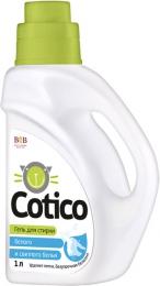 Гель для стирки белого и светлого белья Cotico