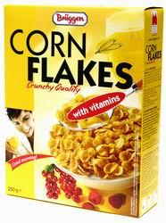"""Хлопья Corn Flakes """"Bruggen"""" с витаминами"""