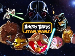 Игра Angry Birds HD Star Wars для iPad