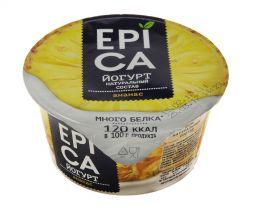 """Йогурт высокобелковый """"Epica"""" с ананасом 4,8%"""