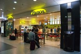 Кафе Panos в Брюсселе (Бельгия)