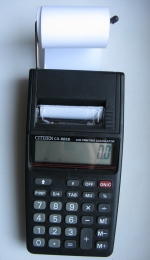 Калькулятор Citizen CX-66EB Hand Held Printing Calculator