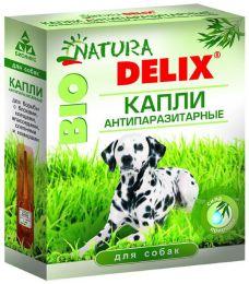 Капли антипаразитарные для собак Natura Delix Bio