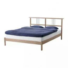 Каркас кровати 140х200 Рикене IKEA