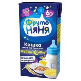Кашка молочно-злаковая перед сном ФрутоНяня