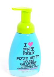 Клубнично-лимонадный шампунь-мусс без смывания для кошек Pet Head Fizzy Kitty