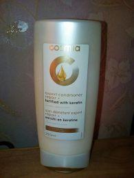 Кондиционер для волос Cosmia профессиональный уход для распрямления волос с кератином