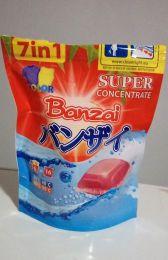 Концентрированный гель для стирки цветного белья в растворимых капсулах Banzai 7 в 1