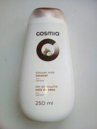 """Молочко для душа Cosmia """"Кокос"""" с эффектом увлажнения"""