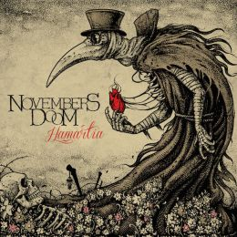 Музыкальный альбом November's Doom - Hamartia (2017)