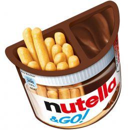 """Набор из хлебных палочек и пасты ореховой Ferrero """"Nutella GO!"""" с добавлением какао"""
