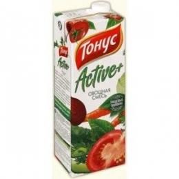 """Нектар """"Тонус"""" Active+ овощная смесь"""