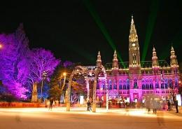 Новый год в Вене (Австрия)