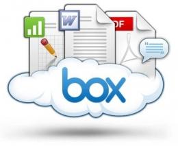 Облачное хранилище данных Box