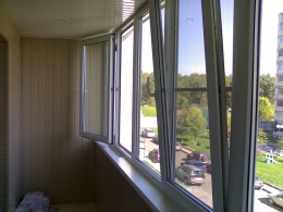 """Окна Montblanc от фирмы """"Веста"""""""
