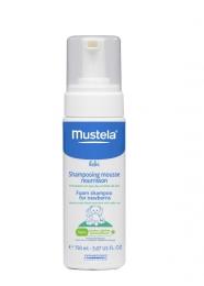 Пенка-шампунь для новорожденных Mustela Bebe