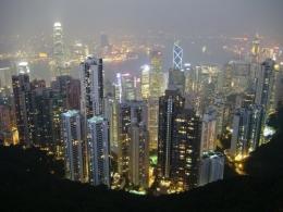 Пик Виктории в Гонконге