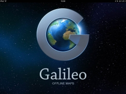 Приложение Galileo Offline Maps для iPad