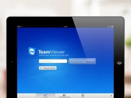Приложение TeamViewer для iPad