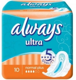 "Прокладки ""Always Ultra"" normal plus"