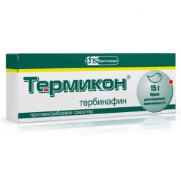 """Противогрибковое средство """"Термикон"""" крем для наружного применения Фармстандарт"""