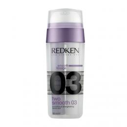 Двухкомпонентная разглаживающая и укрепляющая сыворотка для волос Redken Two Smooth 03