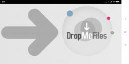 Сайт-файлообменник dropmefiles.com